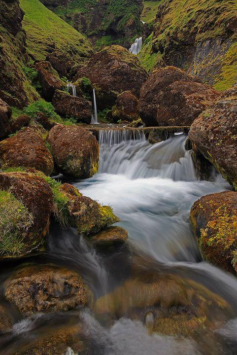 Waterfall, Vik by Brettc on DeviantArt