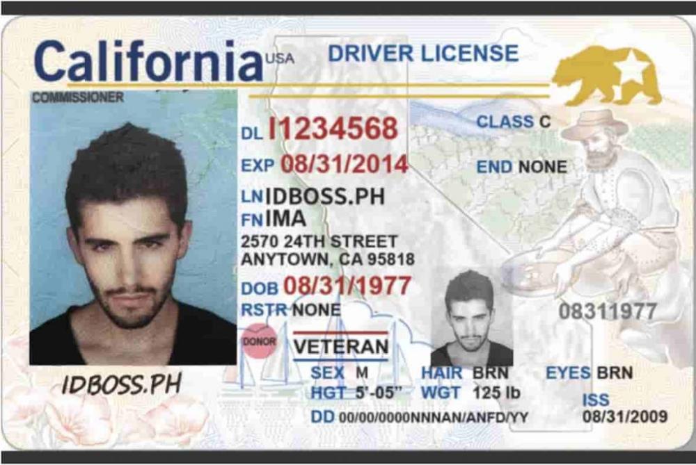 Best State For Fake Id Idboss Ph Real Id Fake California Usa