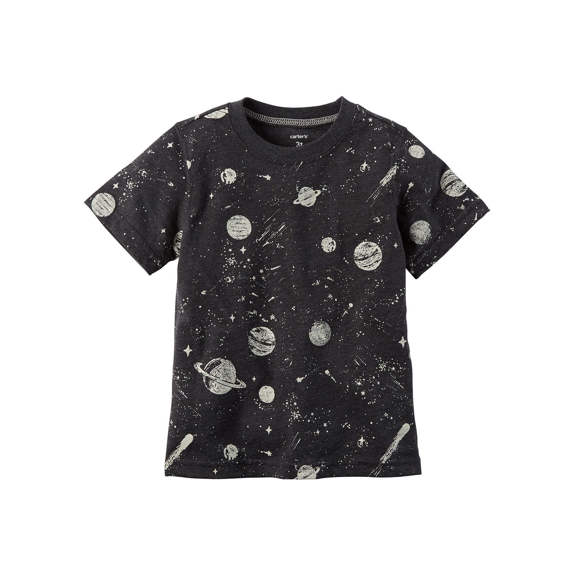 Toddler Boy Carter s Print Graphic Tee Size 2T Blue