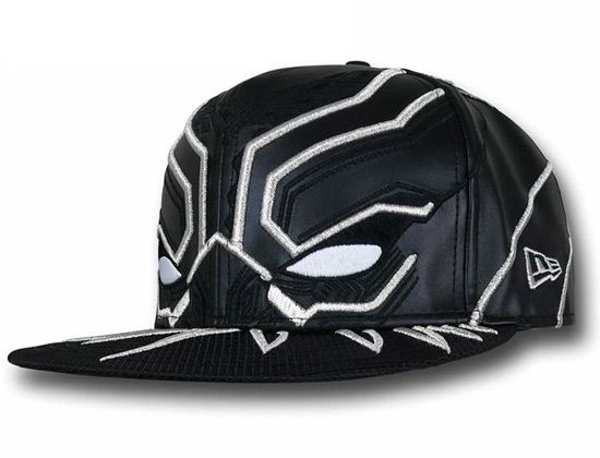 Black Panther Armor 59Fifty Fitted Cap. Black Panther Armor 59Fifty Fitted Cap  Marvel Hats ... 032ec48f1c97