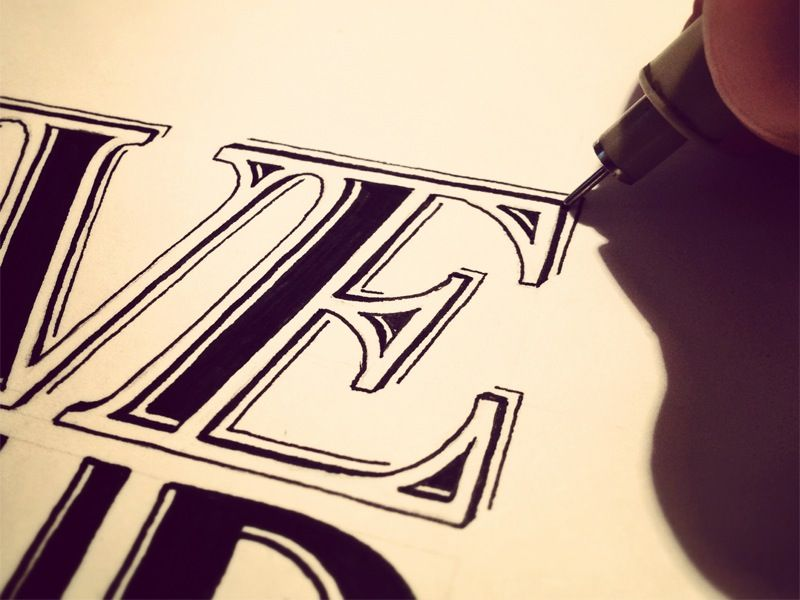 Hand Lettering How To