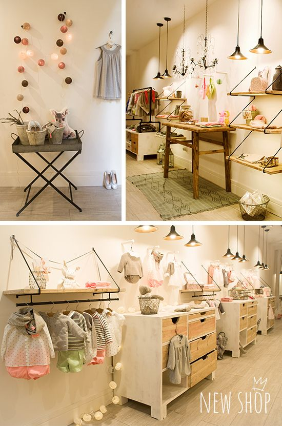 Retail Stores For Kids Apparel And Accessories Shop Interior