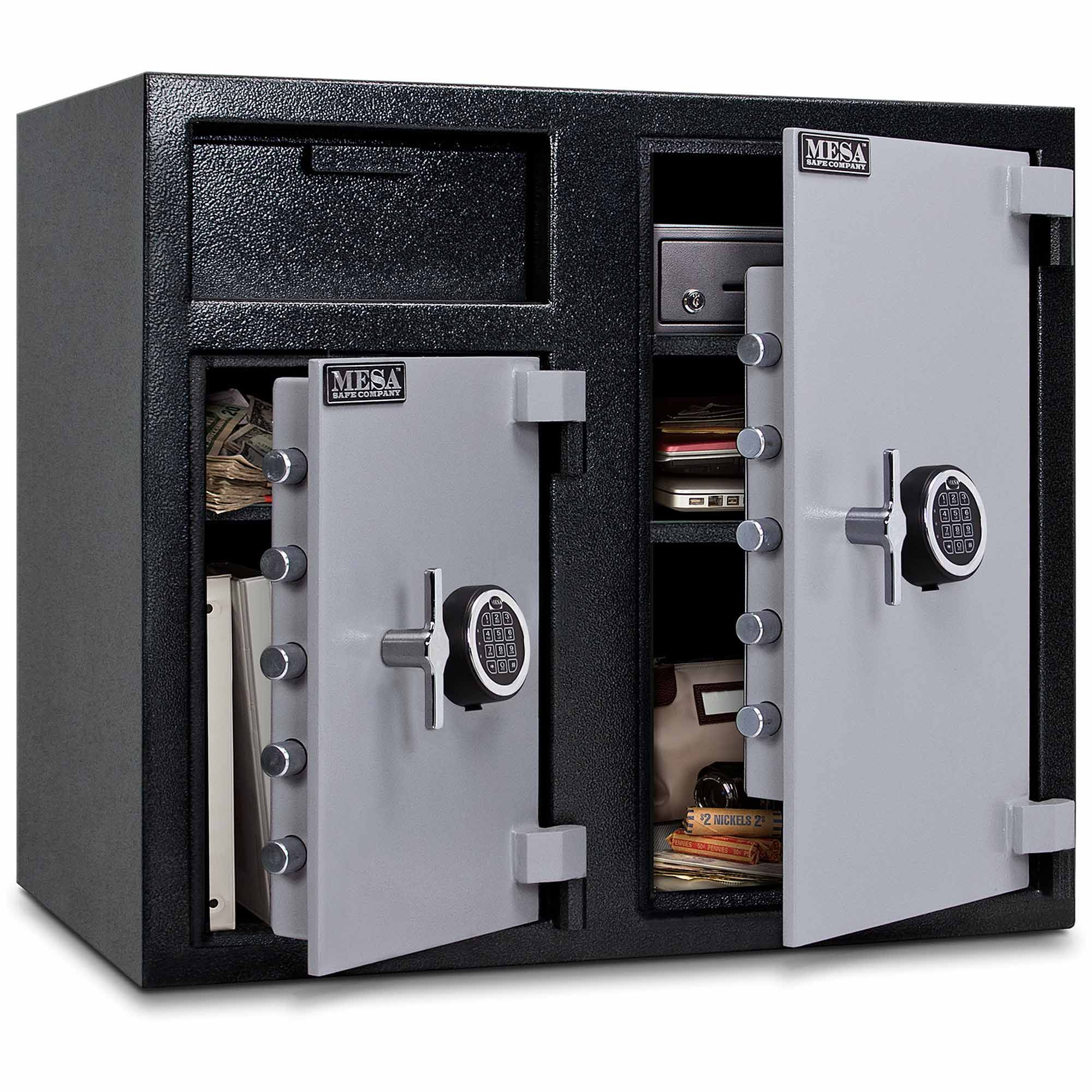 Mesa Safe Mfl2731ee Wide Body Depository Safe Dual Electronic