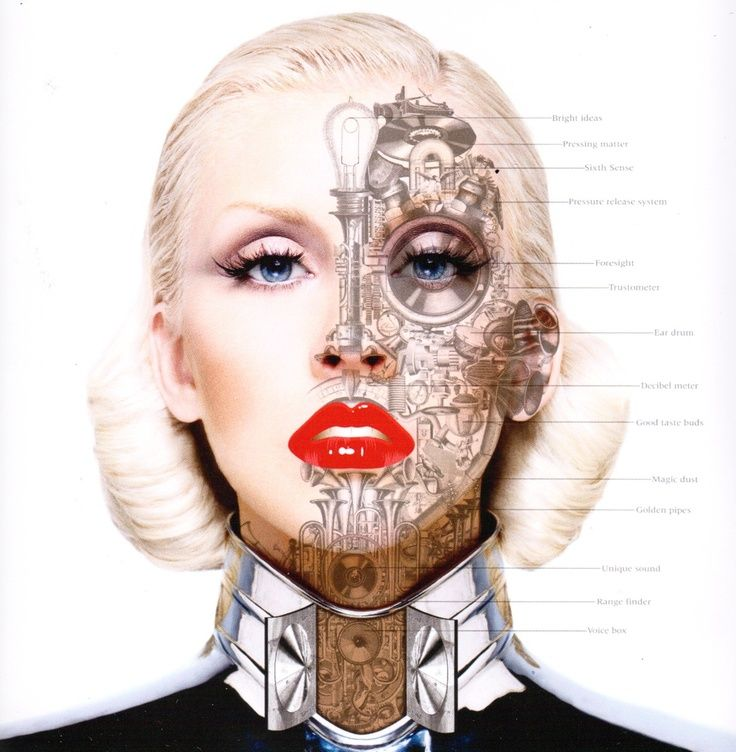 half robot half human - Google Search in 2019 | Face art ...