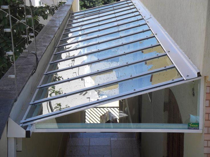 Image result for pasillos con techos transparentes for Cubiertas transparentes para techos