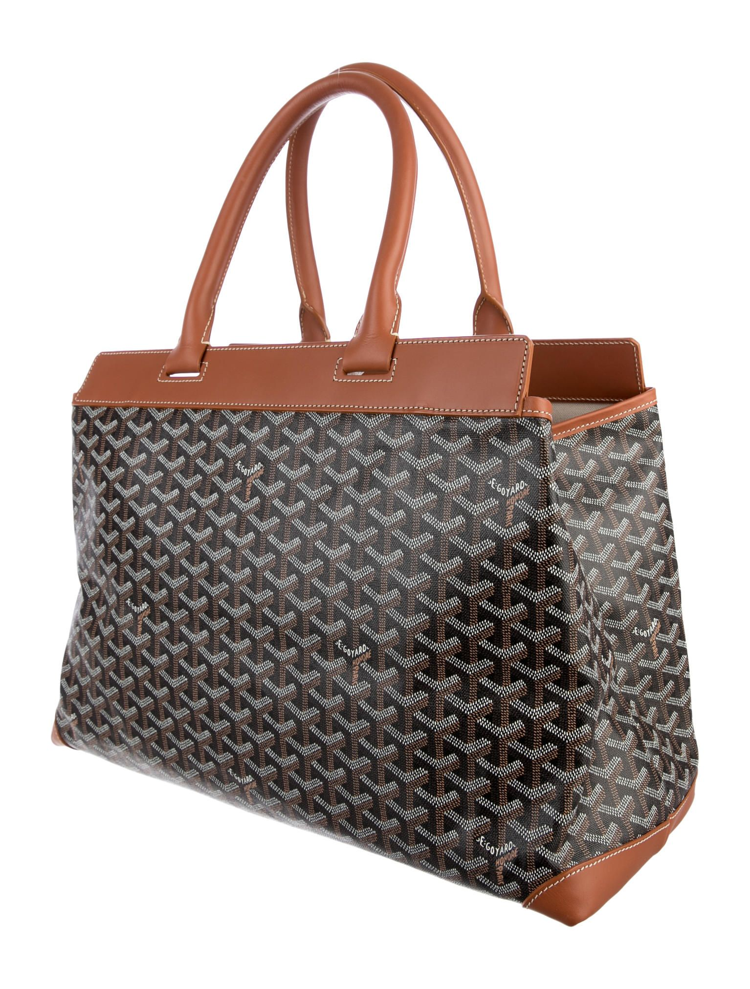 c09a31c1fb0 The Best Man Totes of 2016! Goyard Bellechasse GM Tote in Grey