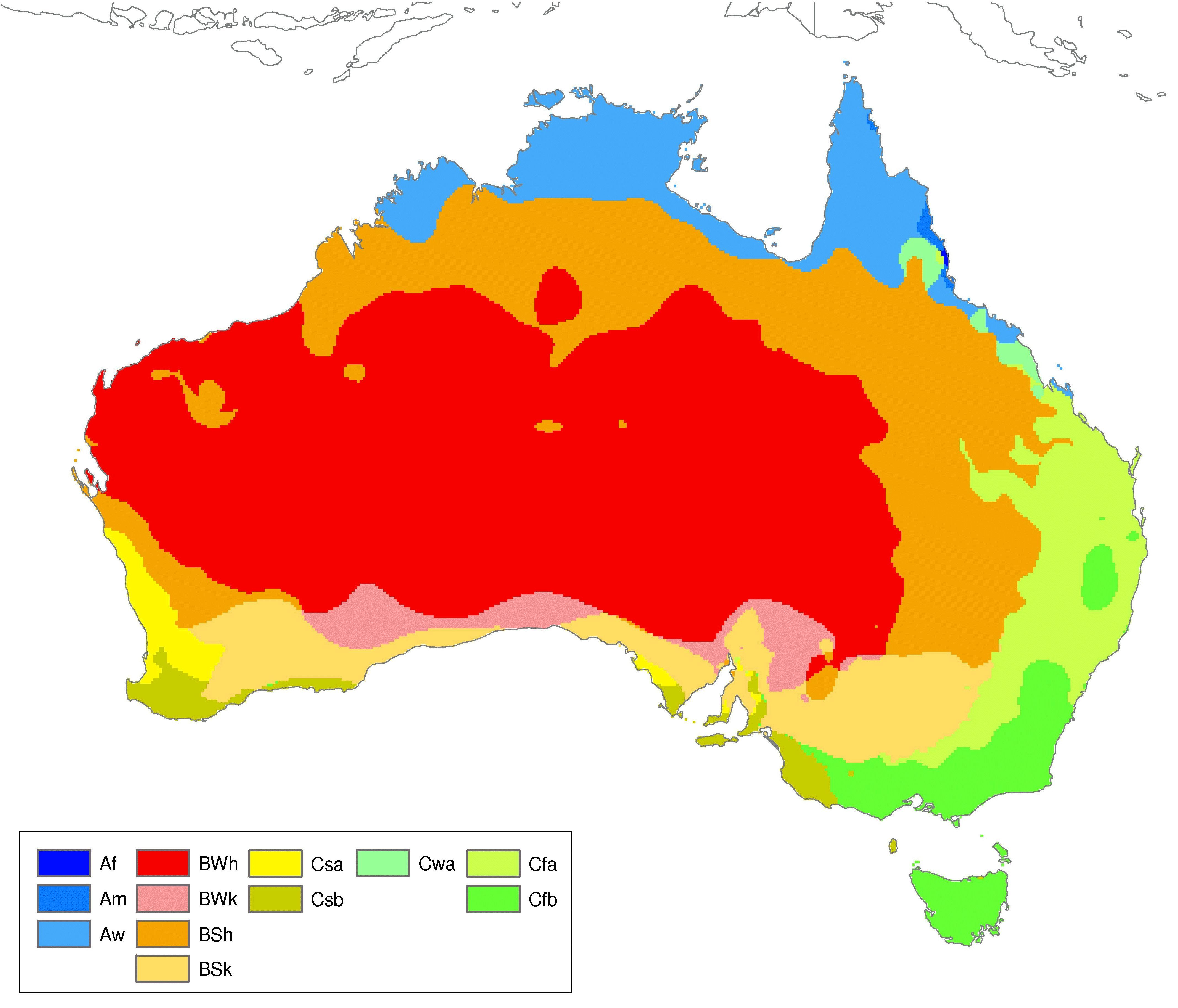 Which Countrys Climate Do You Prefer Australia Or The United - Us climate map zone