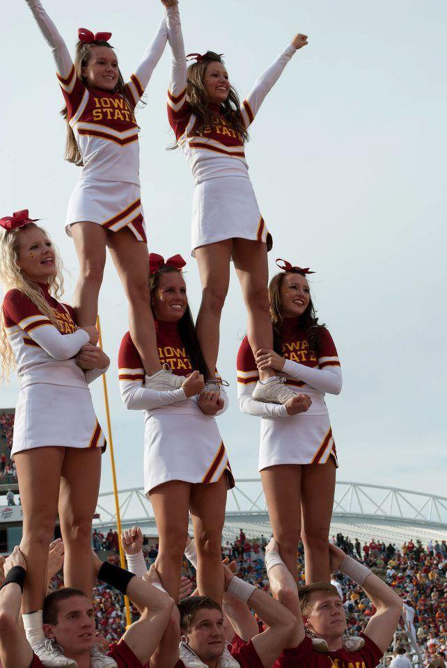 ISU Spirit Squad #ISUWinningForPinning LOOK ITS ME!!!