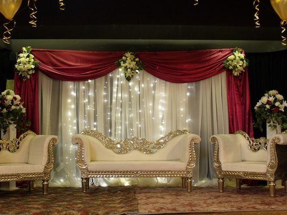 Asian Wedding Stage Decorations Bristol Backdrops Indian Wedding
