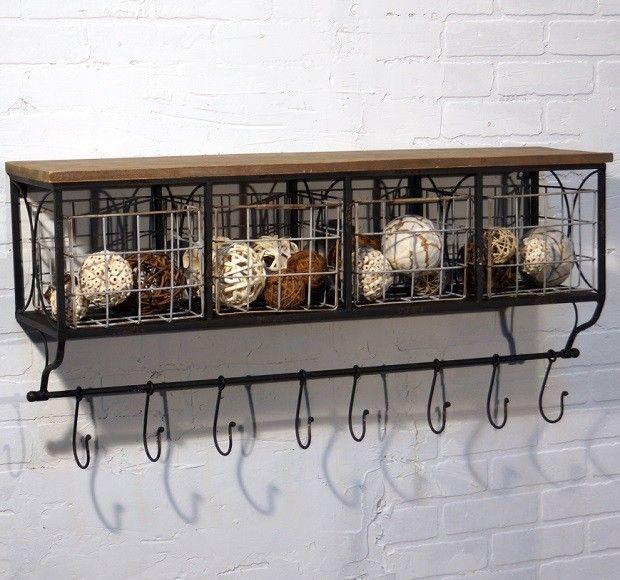 Antique Wire Baskets - Dolgular.com