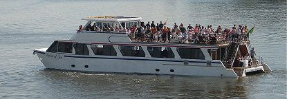 vaal river boat cruises luxury gauteng river cruiser at