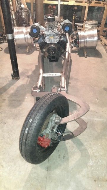 Home Building A V8 Trike Motorcycle With C5 Corvette Suspension