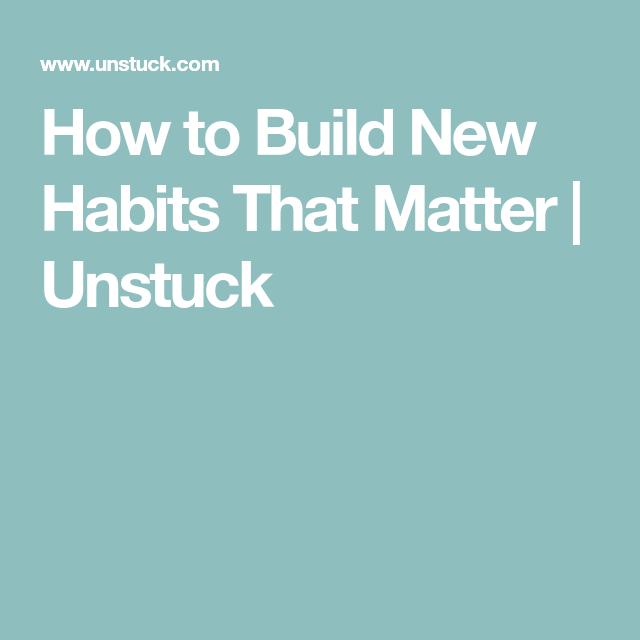 Kitchen Goals Heretomakelifeeasy: How To Build New Habits That Matter