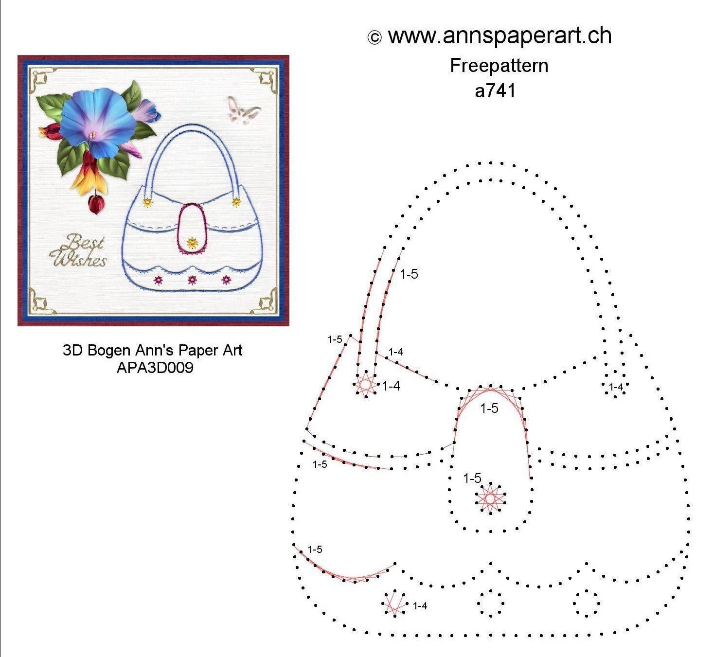 Von Ann L Tolf, Paper Art Anns