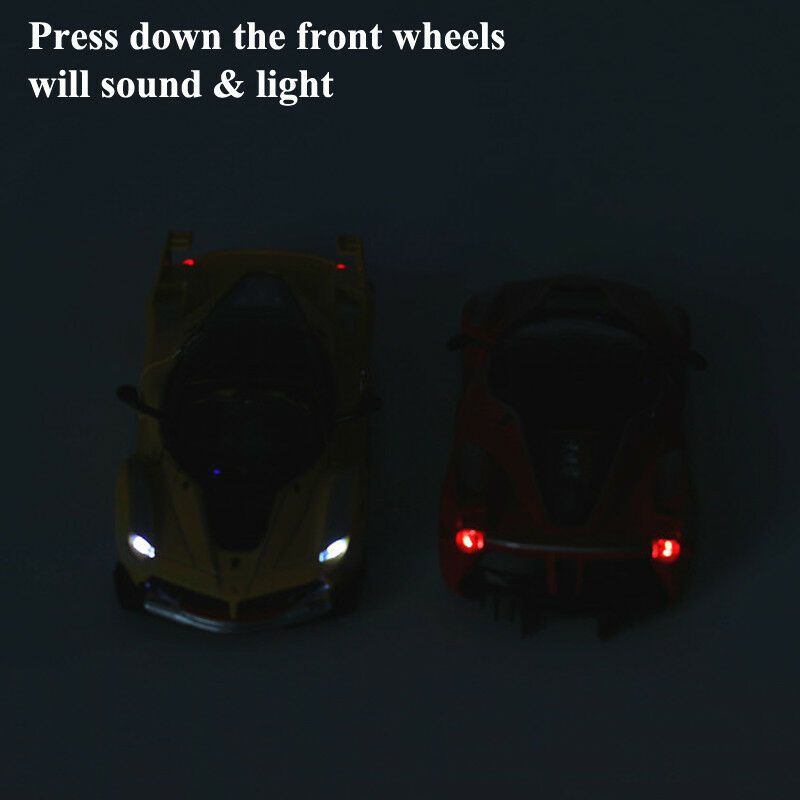 Ferrari La Ferrari FXX 1:32 Diecast Model Car Toy Sound&Light Pullback Power #Ad , #spon, #Diecast#Model#Ferrari #ferrarifxx