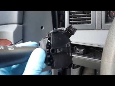 Replacing A Multi Function Switch Mfs 2006 Jeep Grand Cherokee Wk