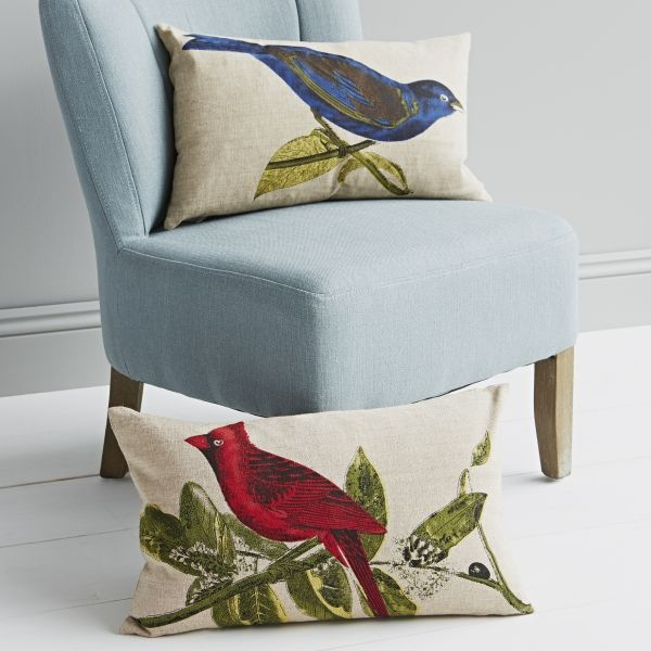 Botanical Bird Cushions Gifts Cushions Home