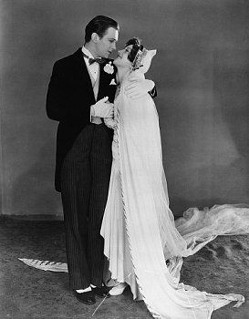 Joan Crawford and Douglas Fairbanks in the film Our Modern Maidens