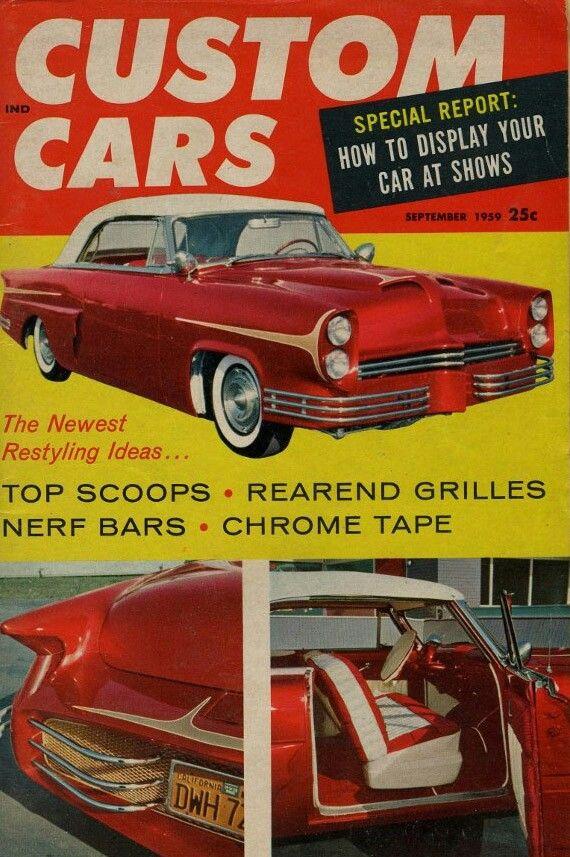 Pin by stanward Von on vintage customs car | Pinterest | Car ...