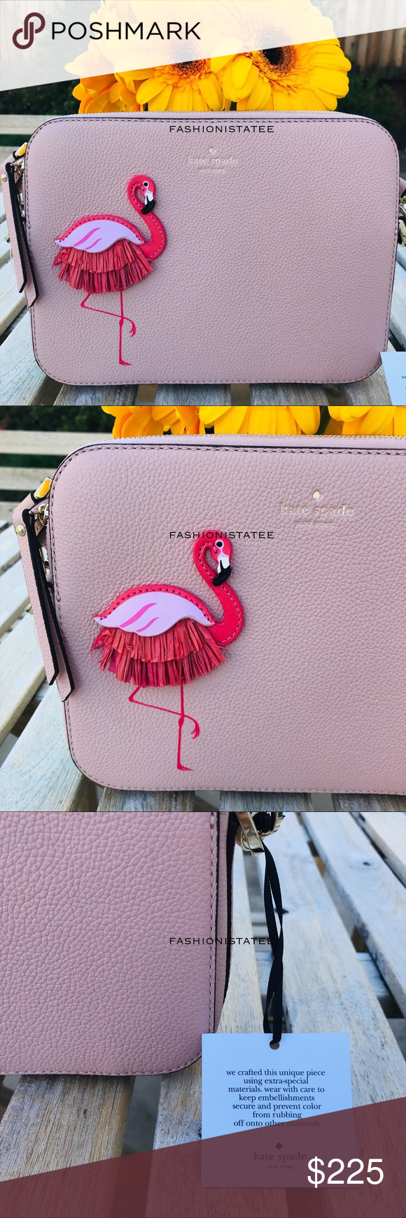 By The Pool Flamingo Kate Spade Kate Spade Camera By The Pool Flamingo Crossbody Kate Spade By The