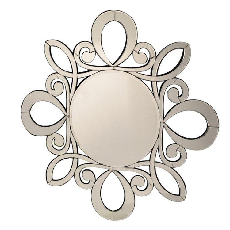 Circles Decorative Wall Mirror