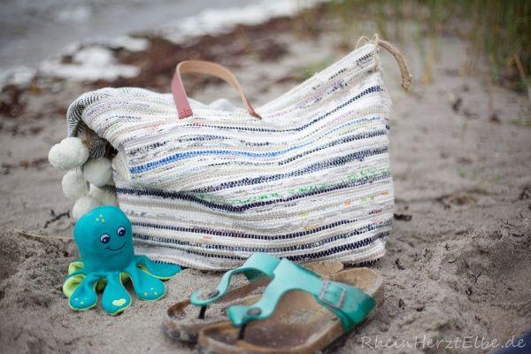 Vom Teppich zur Strand-/Shoppingbag | Sewing diy