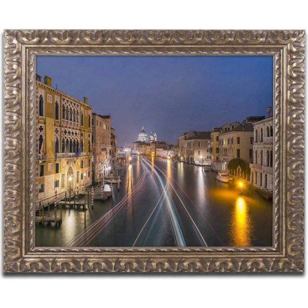 Trademark Fine Art 'On the Grand Canal' Canvas Art by