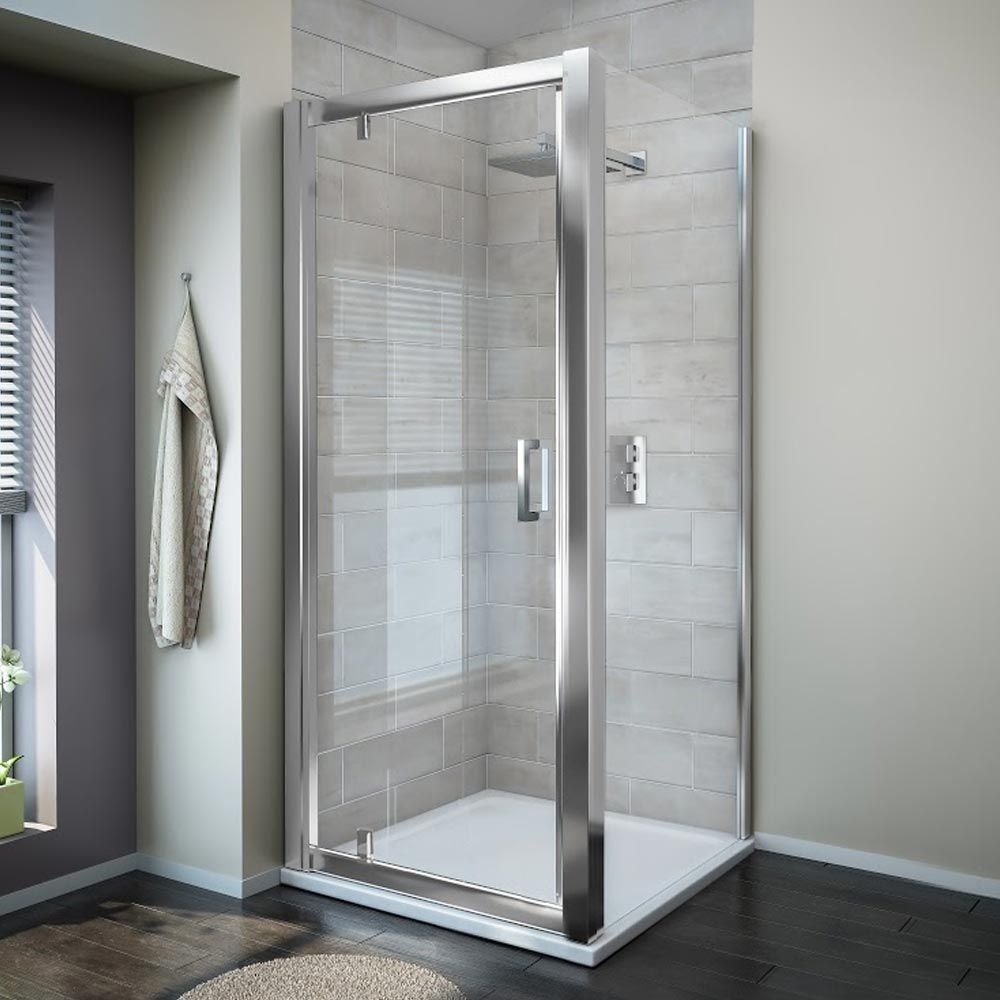 Turin 8mm Square Pivot Door Shower Enclosure From Victorian Plumbing Shower Enclosure Shower Doors Small Bathroom