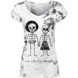 Photo of Outer Vision Skeleton Lovers T-ShirtEmp.de