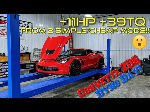 My 2015 C7 Corvette Z06 Made How Much At The Dyno My Chevrolet