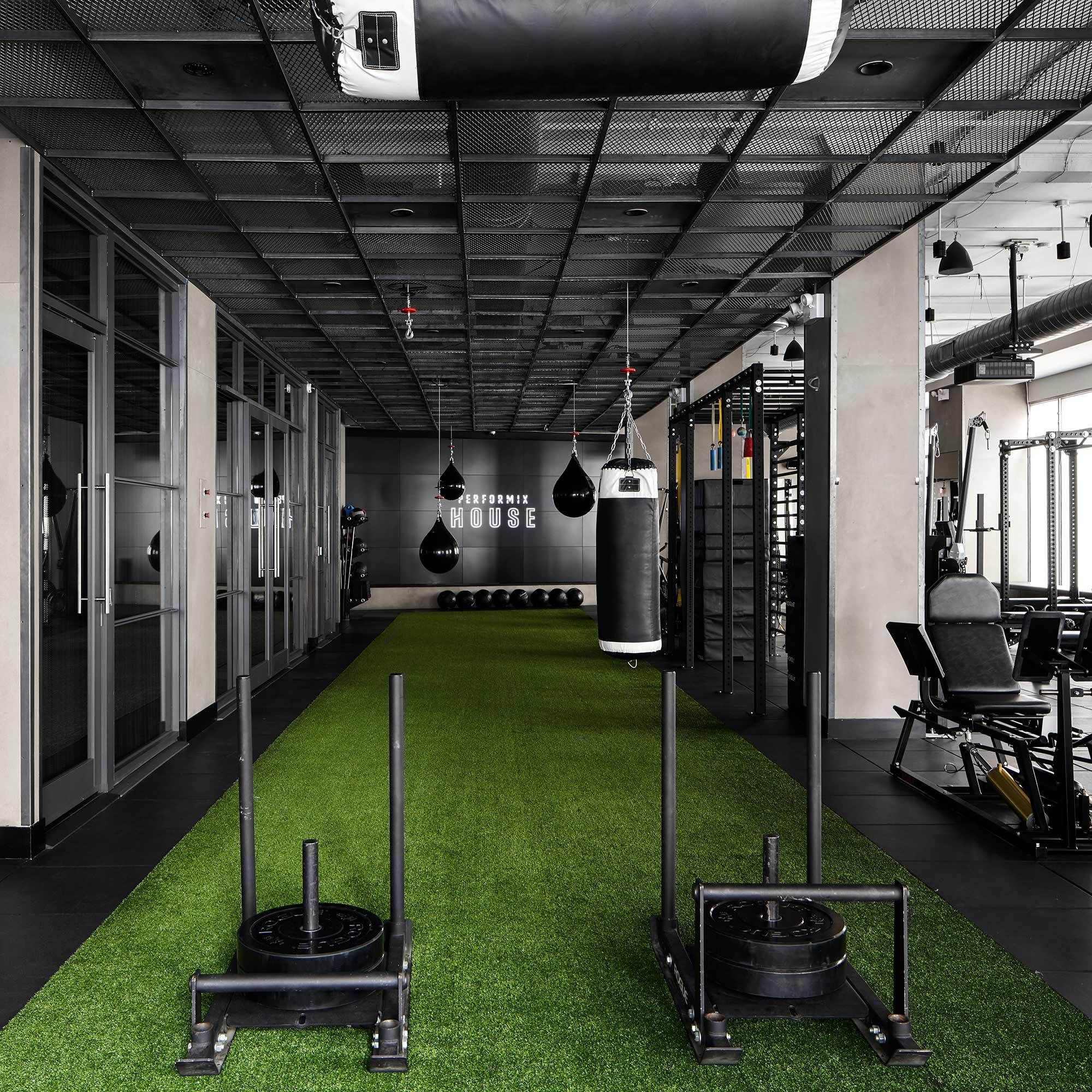 Athletes Trainers Performix Gym Design Interior Gym