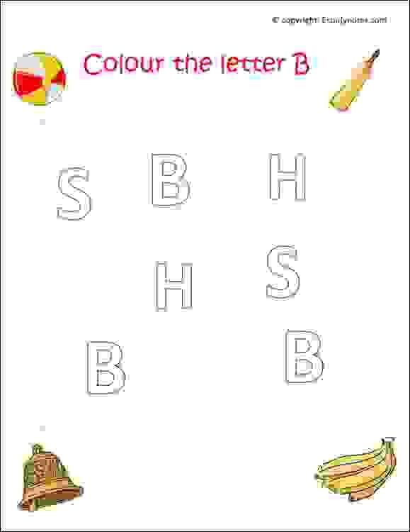 Preschool English Alphabet Worksheets English Worksheets For