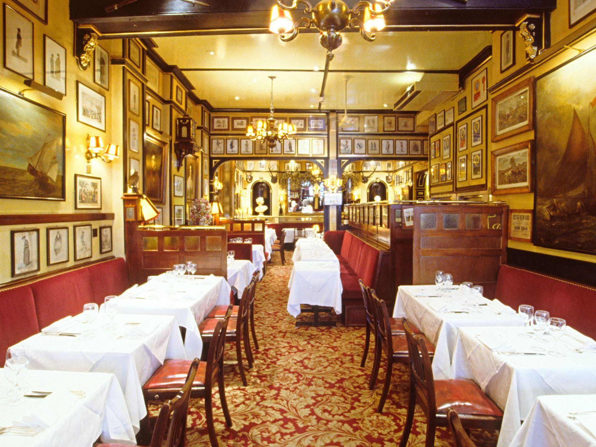 The Oldest Restaurants in the World Restaurant, London