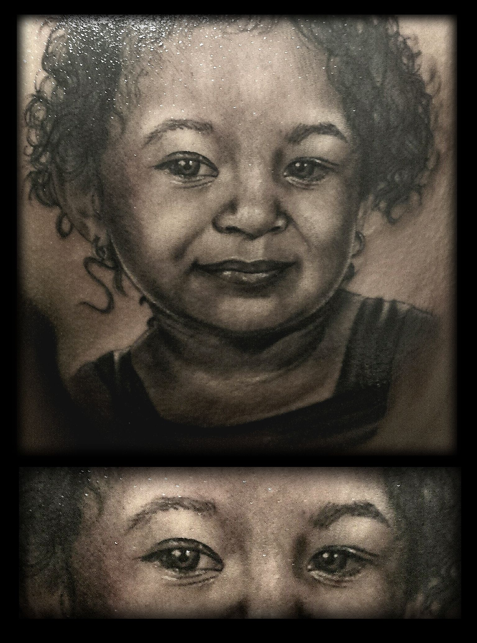 #tattoo #tatuaje #real #realismo #realistic #realista #retrato #portrait #kid #girl #child