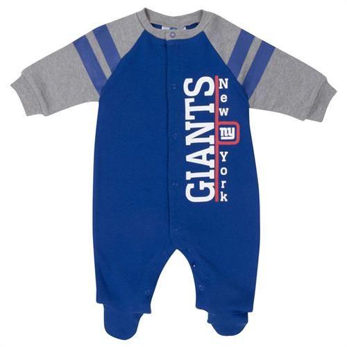 Columbus Blue Jacket Coverall Sleeper Infant Baby Logos