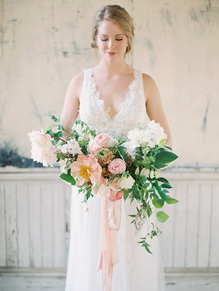 Southern style wedding dresses  Elegant  Ethereal Wedding Inspiration at the Trinity Institute