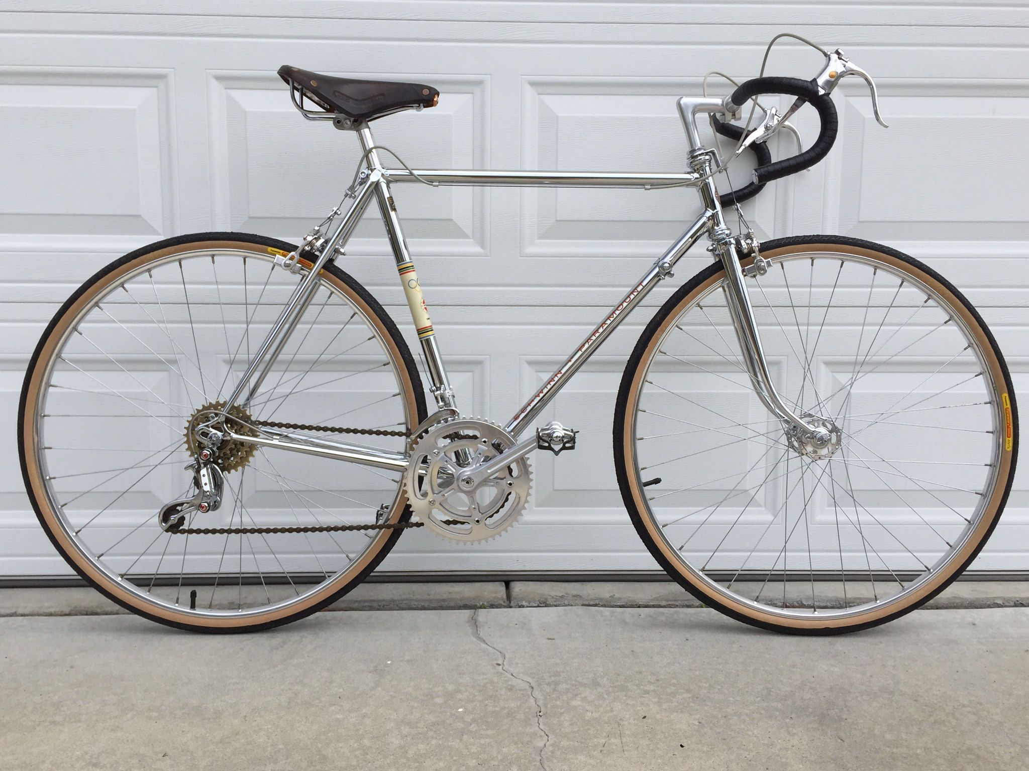 9e776cae8 1972 Schwinn Paramount chrome P15-9 all original. Rare pristine ...