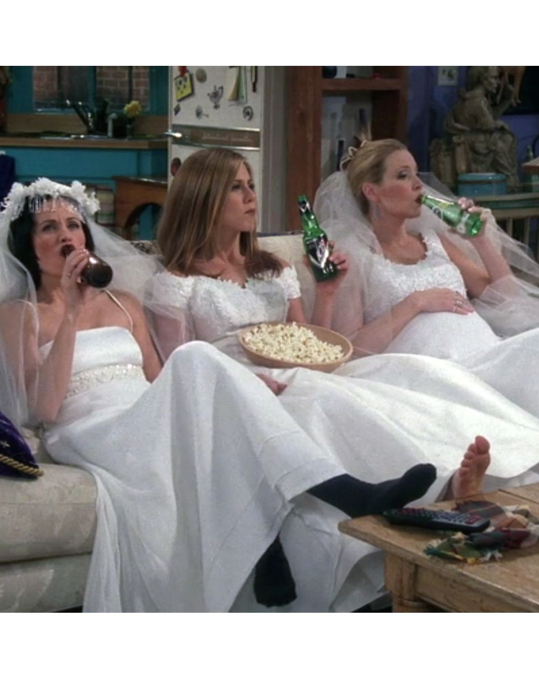 Iconic Tv Wedding Dresses That Stole The Show Tv Weddings Wedding Dresses Wedding Outfit [ 1329 x 1064 Pixel ]