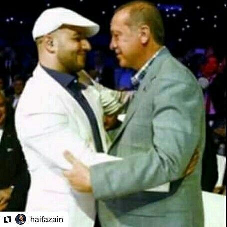 Maher Zain and president Erdogan of Turkey ❤ | maher zain