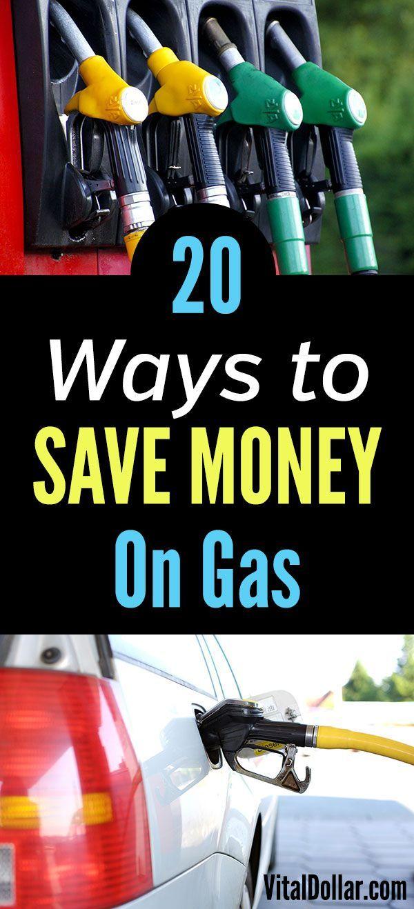How to Save Money on Gas Ways to save money, Rewards