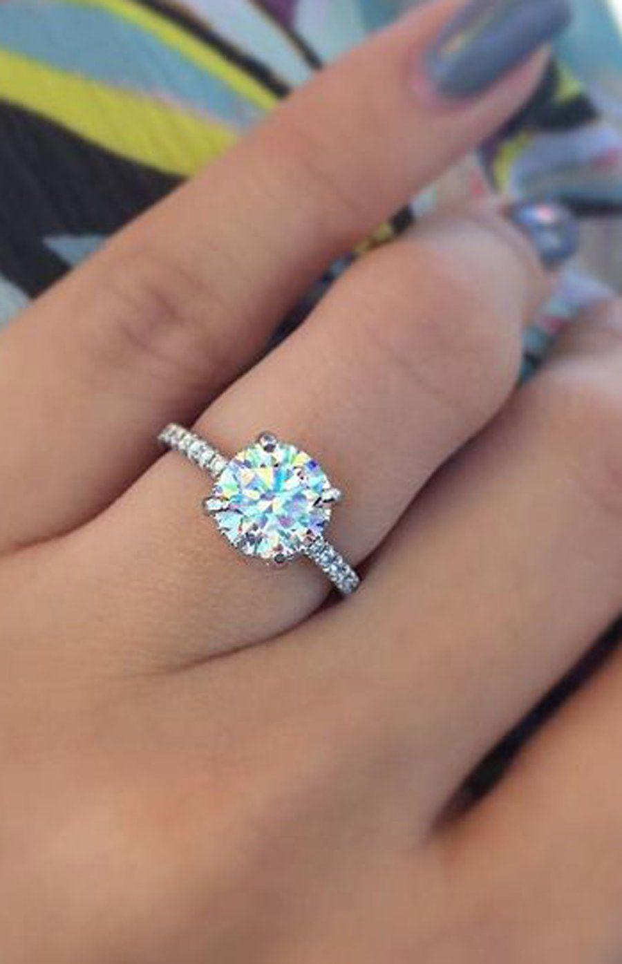 d6237304e629c Camila Medium Ultra Shine Cubic Zirconia Side Accent Crystal ...
