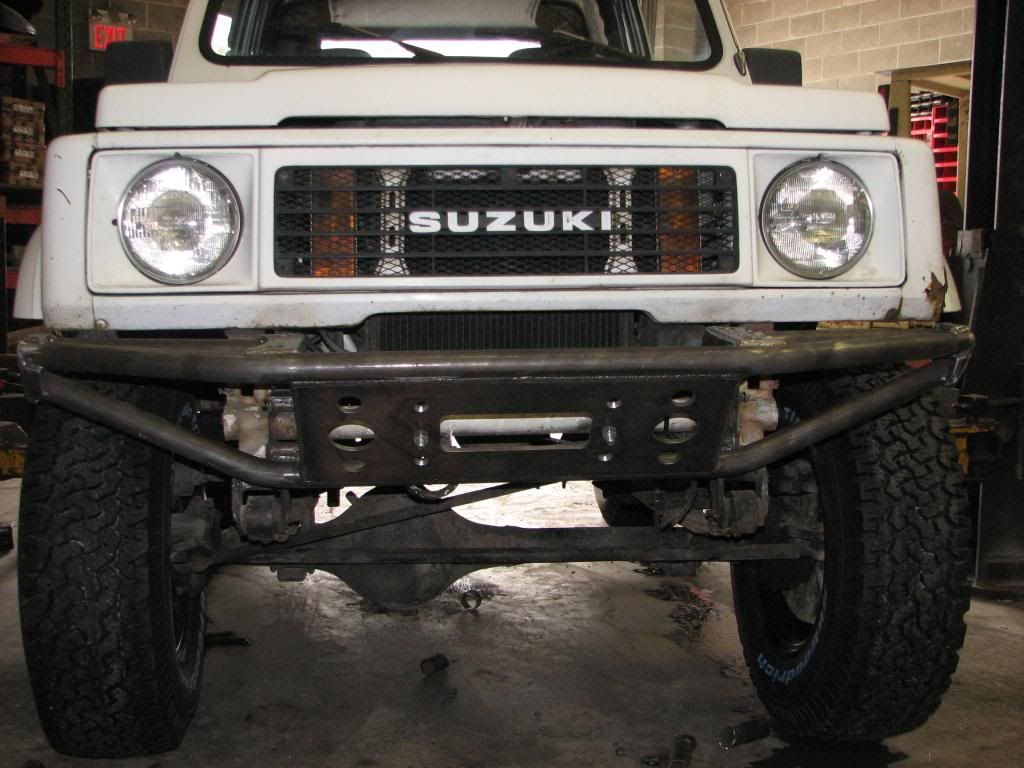 off road winch front bumper suzuki samurai - google search