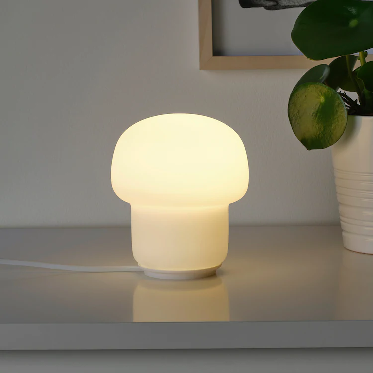 green glass lamp (With images) | Ikea table lamp, Ikea lamp