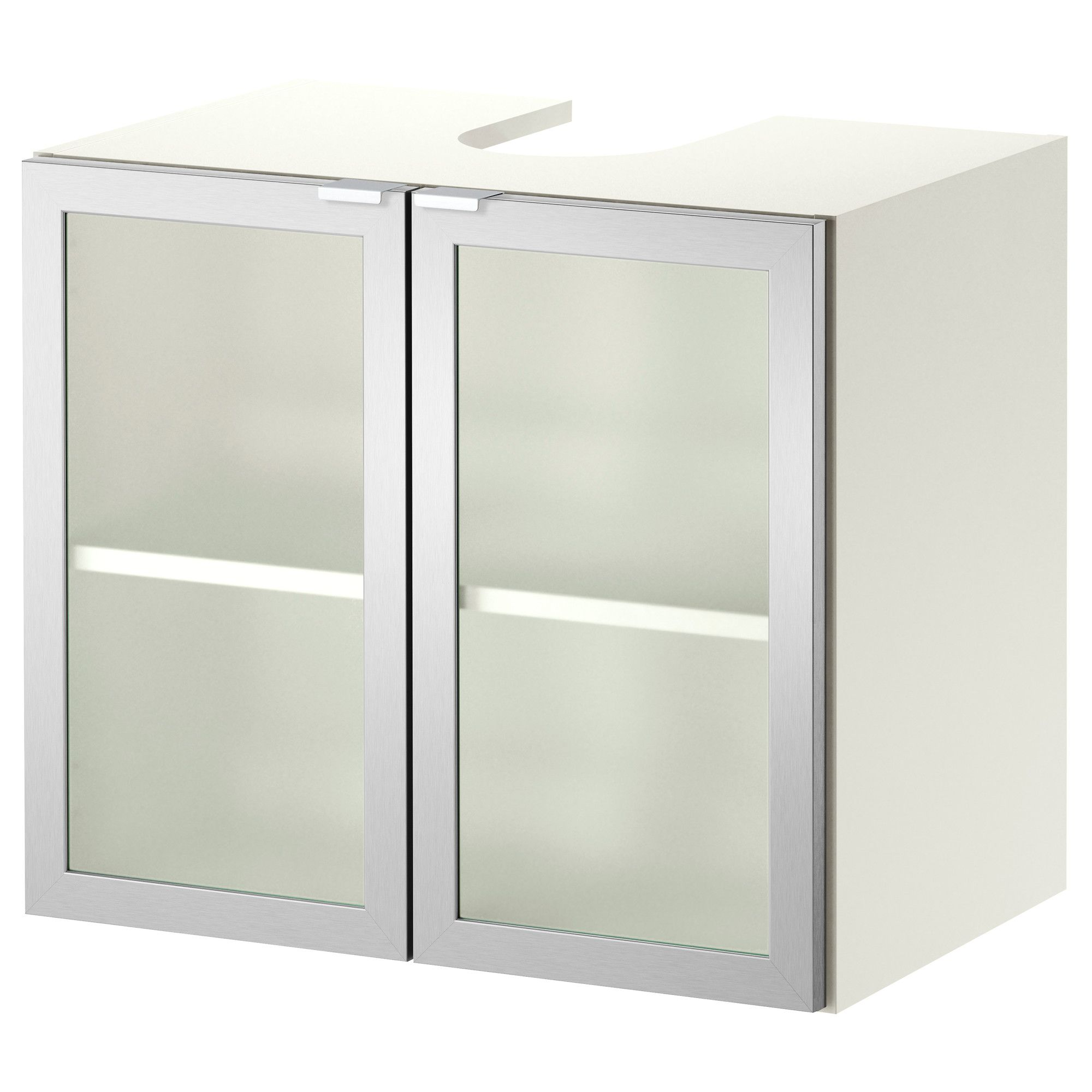 Apt 1 And Apt 2: LILLÅNGEN Sink Base Cabinet With 2 Doors   White/
