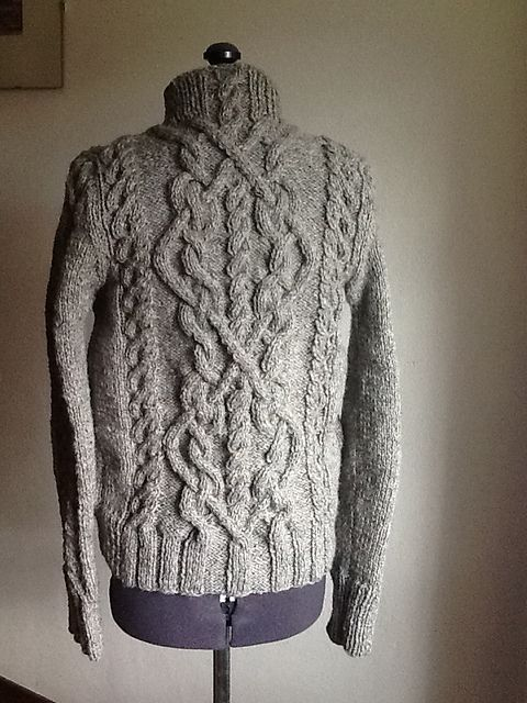 Ravelry: Project Gallery for Cable Sweater pattern by Bernat Design ...