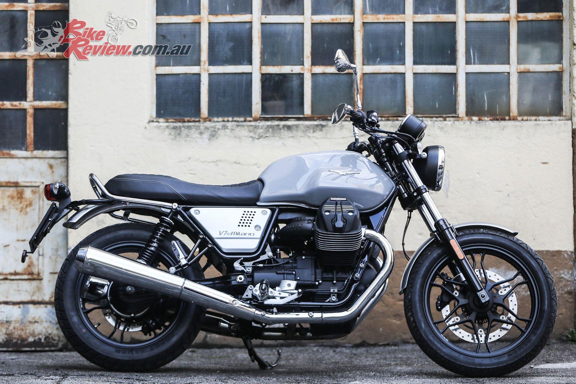 Moto Guzzi V7 Iii Milano Moto Guzzi Moto Guzzi Cafe Racer Moto