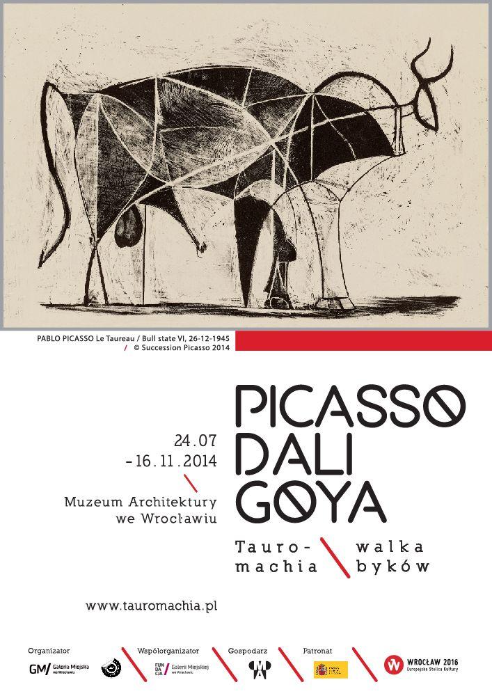 24/07-11/09 'Tauromachia' Picasso Dali Goya exhibition @ Museum of Architecture