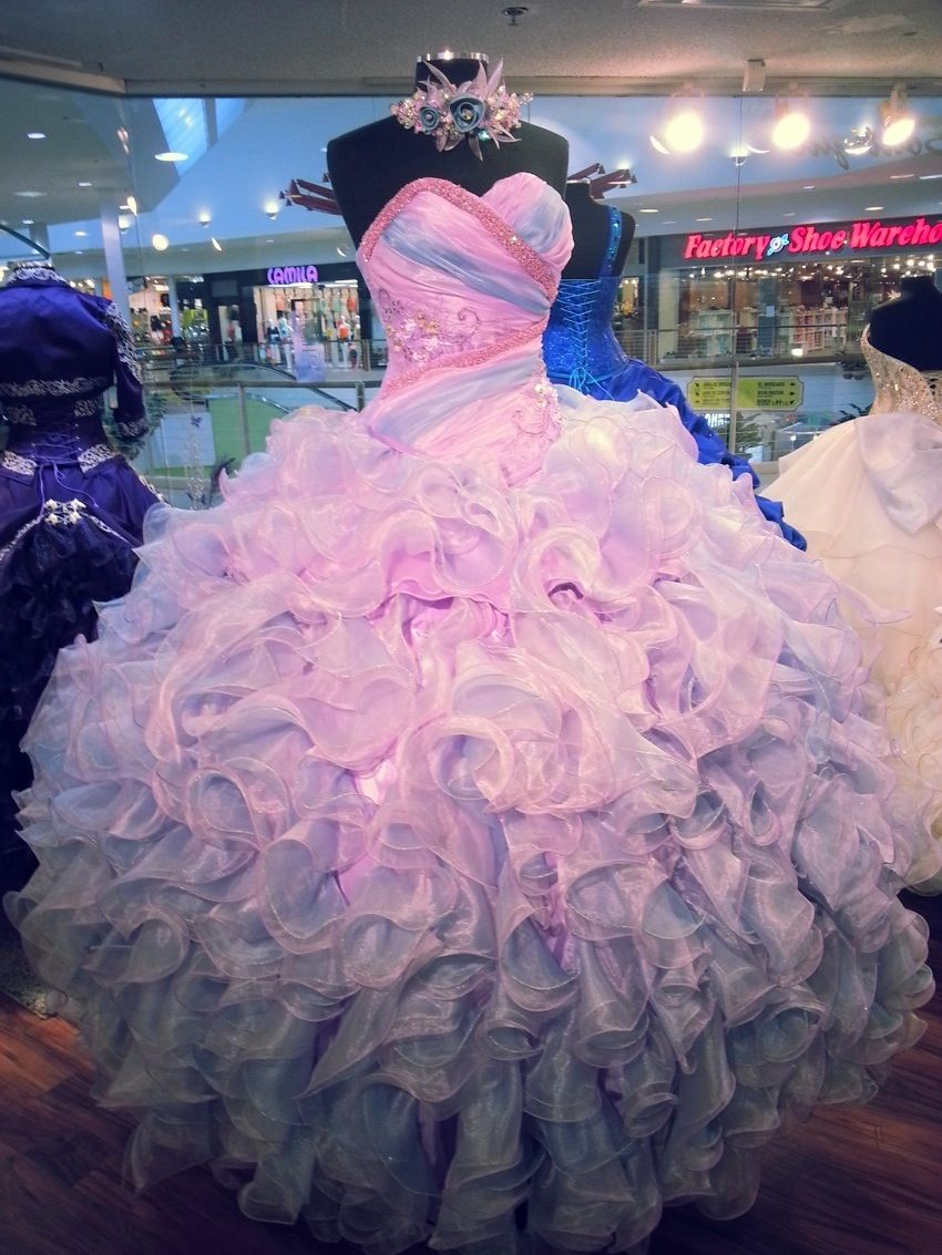 Quinceanera dress | All About Fashionable Outfits | Pinterest ...