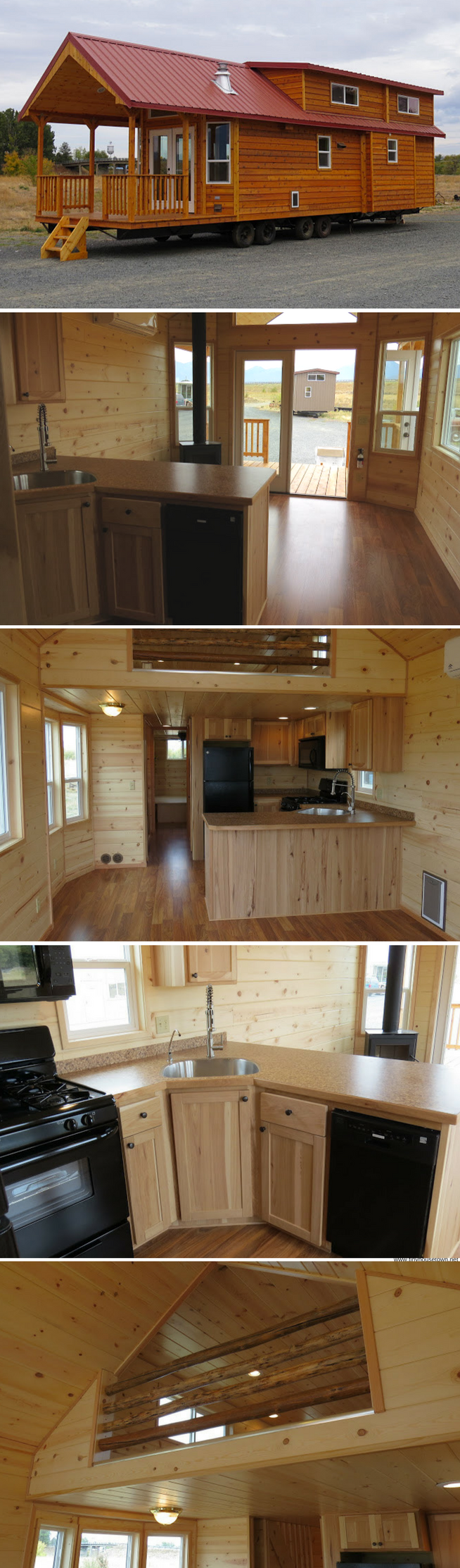 Tiny house living classic double loft  two bedroom park model cabi also cabin rh pinterest