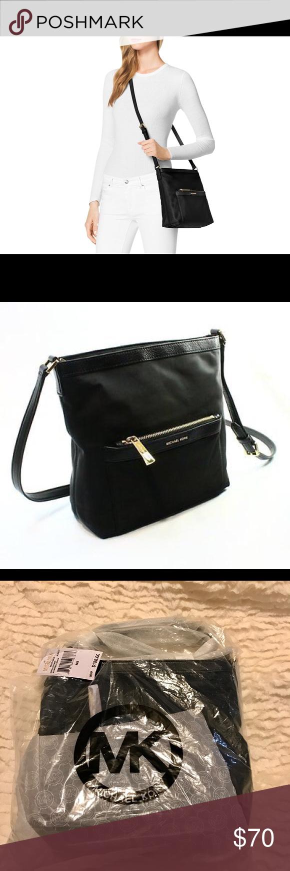 a65220e2d631 NWT MICHEAL Michael Kors Morgan Md Messenger Bag Michael Kors Morgan Md  Messenger Bag. Black